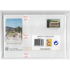 France, enveloppes prêt à poster Vaucluse, timbre-poste Y & T n° 3596, mas provençal, 2003