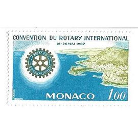 Monaco : Convention du Rotary International 21-26 mai 1967 (1,00)
