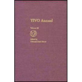 Yivo Annual Volume 23 - Deborah Dash Moore
