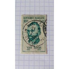 Lot n°327 ■ timbre oblitéré france n ° 1087 ---- 30f turquoise