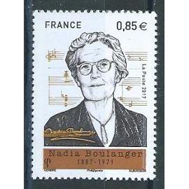 Nadia Boulanger, pianiste, organiste,compositrice et chef d