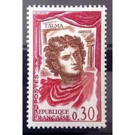 Comédiens Français - Talma 0,30 (Impeccable n° 1302) Neuf** Luxe (= Sans Trace de Charnière) - France Année 1961 - N10934
