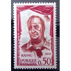 Comédiens Français - Raimu 0,50 (Impeccable n° 1304) Neuf** Luxe (= Sans Trace de Charnière) - France Année 1961 - N10936