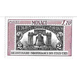 Bicentenaire Indépendance des Etats Unis 1776-1976 (1,70)