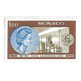 Marie Sklodowska-Curie 1867-1967 (1,00)