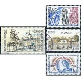 france, joli lot 1983, yvert 2257 100 ans de l