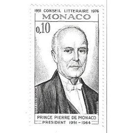 Monaco : Conseil littéraire 1951-1976 - Prince Pierre de Monaco président 1951-1964 (0,10)