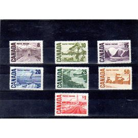 Timbres neufs* du Canada n° 383/389 Paysages ref CA18200