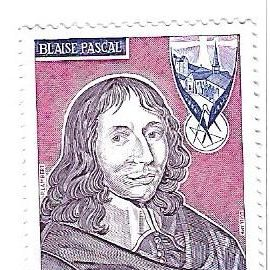 Monaco : Blaise Pascal 1673-1973 (0,50)