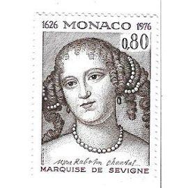 Monaco : Marquise de Sévigné 1626-1976 (0,80)