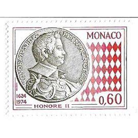 Monaco : Honoré II 1624-1974 (0,60)