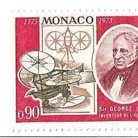Monaco : Sir George Cayley inventeur de l