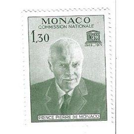 Monaco : Unesco Commission Nationale 1946-1971 Prince Pierre de Monaco (1,30)