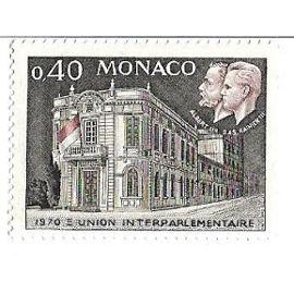 Monaco : Union Interparlementaire 1970 (0,40)