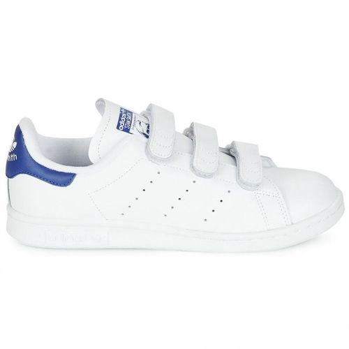 adidas stan smith a scratch bleu