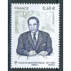 Gaston Monnerville, homme politique français 2011 neuf** n° 4628