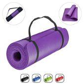 Tapis gymnastique Tapis Sol Tapis Yoga Sport Tapis Tapis d/'entraînement de coffre 183x61x1,5