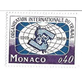 Monaco : Organisation Internationale du Travail 1919-1969 (0,40)