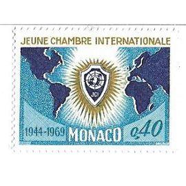 Monaco : Jeune Chambre Internationale 1944-1969 (0,40)