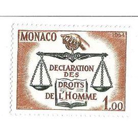 Monaco : Déclaration des droits de l