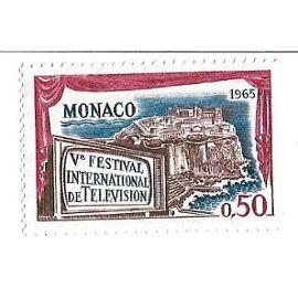Monaco : Vè Festival International de Télévision 1965 (0,50)