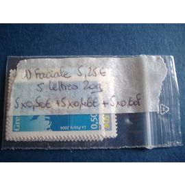 1) Lot timbres france neu