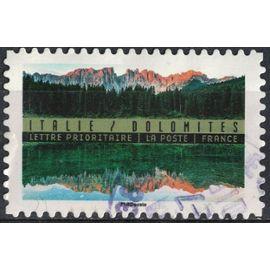 France 2017 Oblitéré rond Used Reflets Paysages du Monde Italie Dolomites Y&T 1367 SU