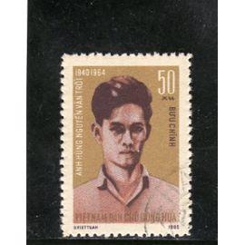 Timbre-poste du Viet-Nam du Nord (Anniversaire de la mort de Nguyen Van Troi)