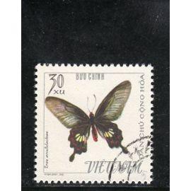 Timbre-poste du Viet-Nam du Nord (Papillon)