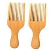 Brosse à fourchettes Brosse à dents large Outil de salon Un peigne africain