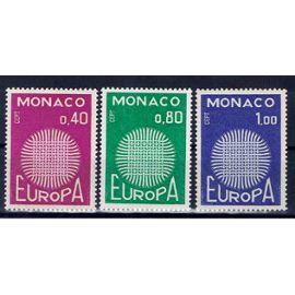 Monaco Europa CEPT 1970 neufs**