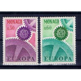 Monaco Europa CEPT 1967 neufs**