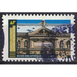 France 2019 Oblitéré rond Used Histoire de Styles Architecture Musée Bibliothèque Grenoble Y&T 1678 SU