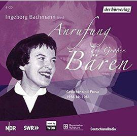 Anrufung des Großen Bären (Edition 2): Gedichte und Prosa 1956 bis 1961 - Ingeborg Bachmann