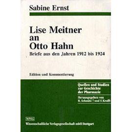 Meitner, L: L. Meitner an O. Hahn