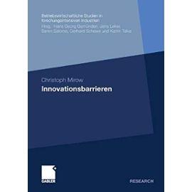 Innovationsbarrieren - Christoph Mirow