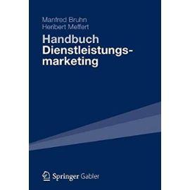 Handbuch Dienstleistungsmarketing - Manfred Bruhn
