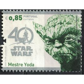 Portugal 2017 Oblitéré Used Star Wars Mestre Maître Yoda SU