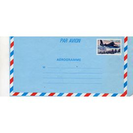 Enveloppe Aérogramme 4fr50 hélicoptère dauphin 2 en vol n° Y&T 1019