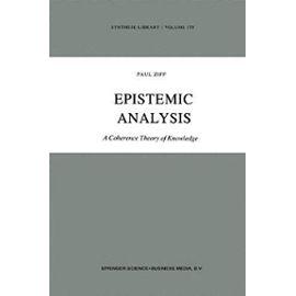Epistemic Analysis - Paul Ziff
