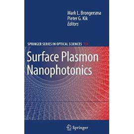 Surface Plasmon Nanophotonics - Mark L. Brongersma