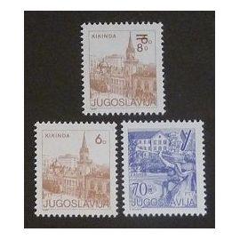 Yougoslavie neuf y et t N° 1947 1998 2019 lot de 3 timbres de 1984-85
