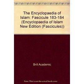 FRE-ENCYCLOPAEDIA OF ISLAM-XI