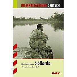 Hesse, H: Siddhartha Interpret. Deutsch