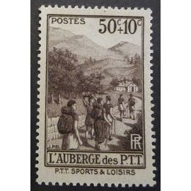 France neuf y et t N° 347 de1937 cote 3.50