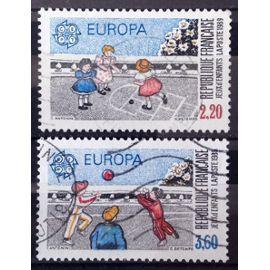 Série Europa 1989 - Jeux d