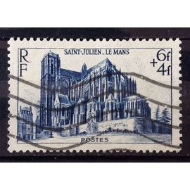 Cathédrale 1947 - Saint-Julien au Mans (Joli n° 775) Obl - France Année 1947 - N27242