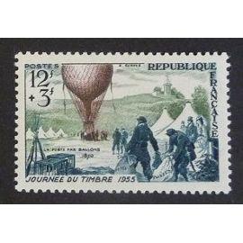 France neuf y et t N° 1018 de 1954 cote 6.00