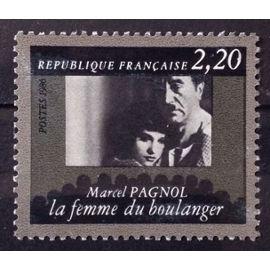 Cinémathèque Française - Marcel Pagnol - La Femme du Boulanger 2,20 (Très Joli n° 2437) Obl - France Année 1986 - N26551