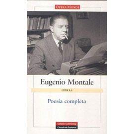 Poesía Montale - Eugenio Montale